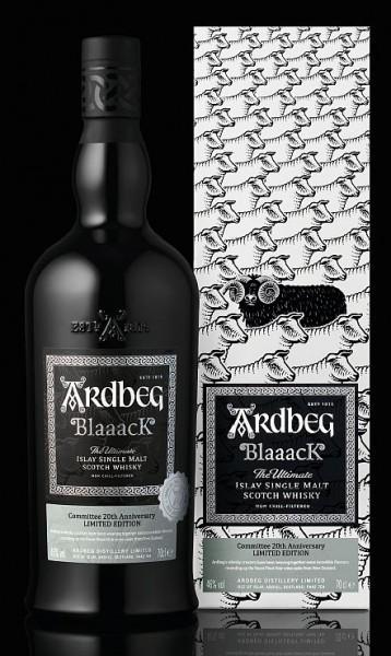 Ardbeg BLAAACK Islay Single Malt - Commitee 20th Anniversary - limited Edition