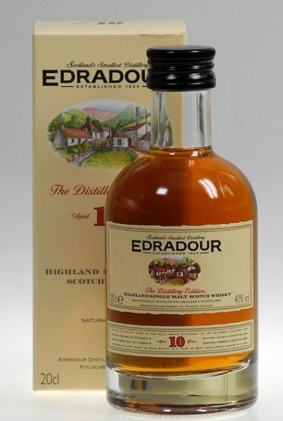 Edradour 10 years Single Malt Whisky 0,20l