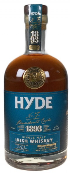 Hyde No 7 Single Grain Oloroso Sherry Cask limited Small Batch Irish Whisky