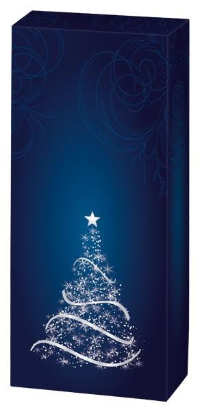 2er Geschenkkarton Weihnachtlich Faltkarton Überreich