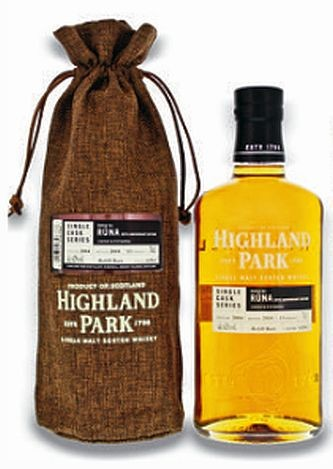 Highland Park Single Cask Serie Runa 2004/2018 25th anniversary Whisky