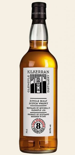 Kilkerran 8 years Campbeltown Single Malt cask strength Whisky