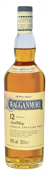 Cragganmore 0,2l 12 years Speyside Single Malt