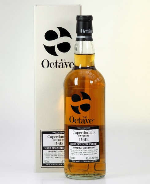 Caperdonich Octave Cask cask strength distilled 1992 24 years