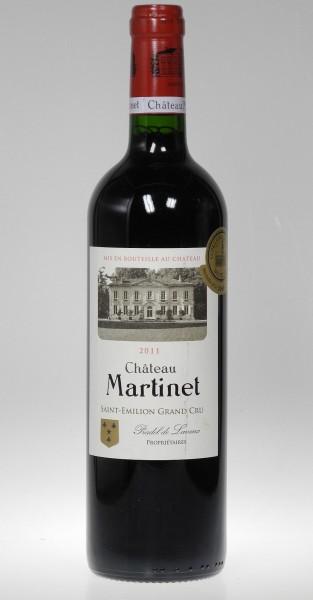 2011er Chateau Martinet St Emilion Grand Cru
