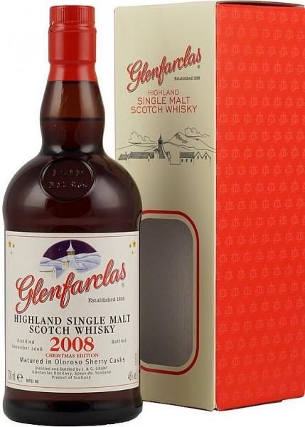 Glenfarclas 2008er CHRISTMAS CASK Single Malt Whisky