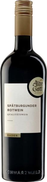 2016er Alde Gott Spätburgunder Rotwein QbA Mild Sasbachwalden