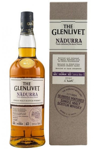 Glenlivet Nadurra First Fill Oloroso Single Malt Whisky