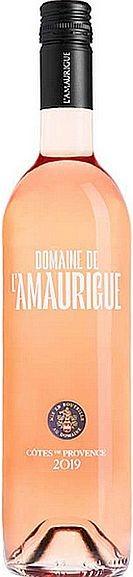 2019er Domaine de L Amaurigue Rosé Cotes de Provence