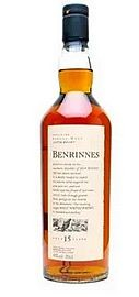 Benrinnes 15 years Flora Fauna Whisky