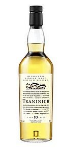 Teaninich 10 years Flora Fauna Serie Whisky