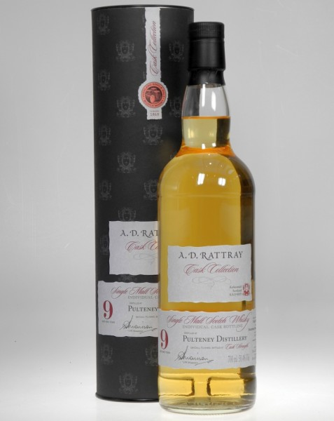 Old Pulteney Rattray 9 years old single Malt Whisky