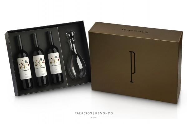 Edler Rioja & Karaffe - Palacios Remondo 3er