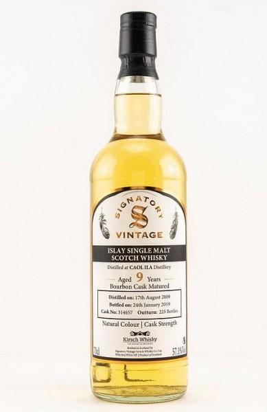 Signatory Caol Ila Cask strength 2009/19 Islay Whisky