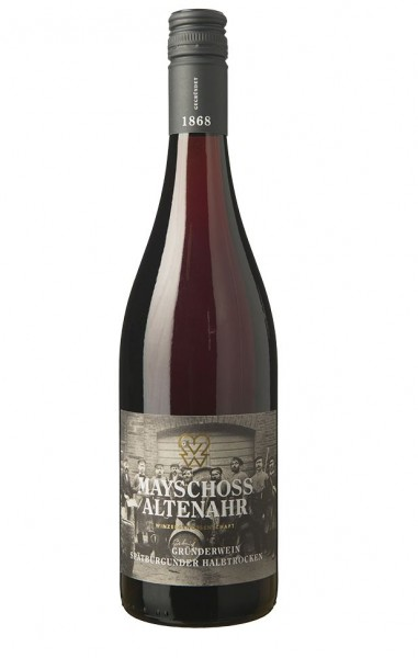 2016er Mayschoss Gründerzeit Rotwein halbtrocken Ahr