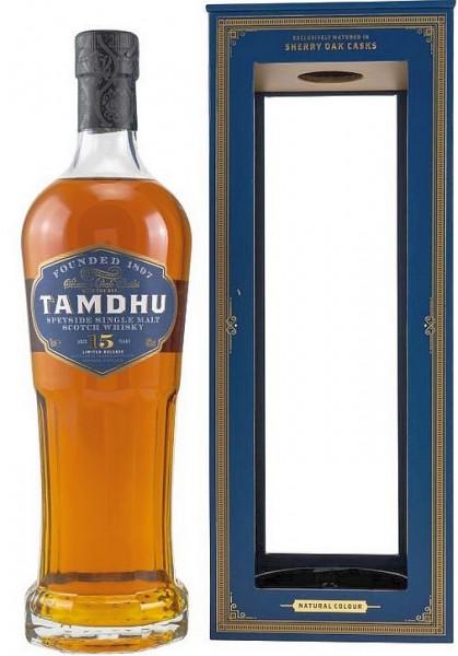 Tamdhu 15 Sherry cask Speyside Single Malt Whisky