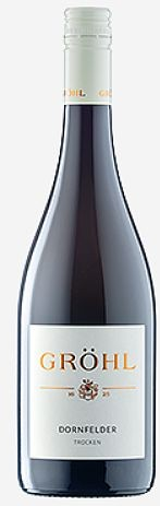 2017er Gröhl Dornfelder Rotwein trocken