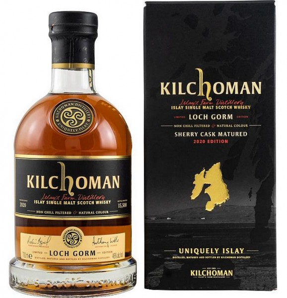 "Kilchoman ""Loch Gorm"" Sherry cask Islay Whisky 2021er Edition"