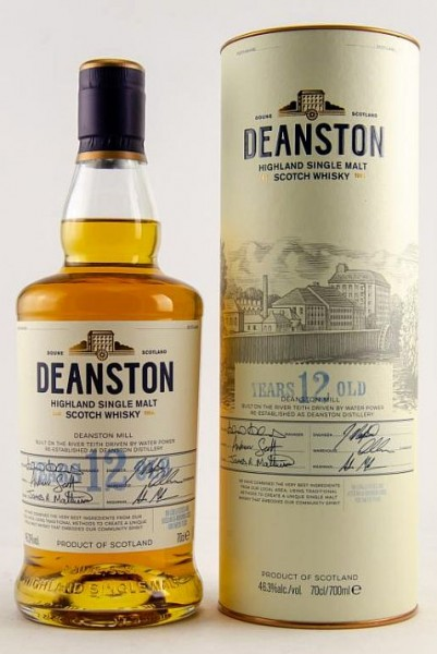 Deanston Single Malt 12 years Whisky