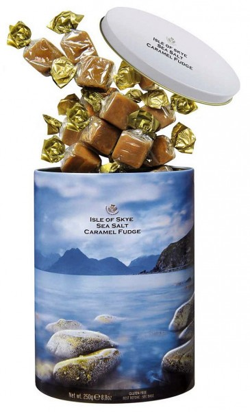 """Isle of Skye"" Sea Salt Fudge Tin"