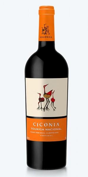 2018er Ciconia Tourigo Nacional tinto Vinho regional Alentejano
