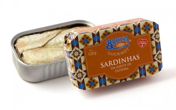 Briosa Gourmet Sardines in Olive Oil