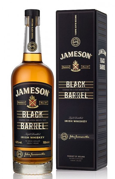 John Jameson Black Barrel Irish Whiskey triple distilled