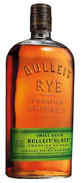 Bulleit Rye Whisky green label - Bourbon cask