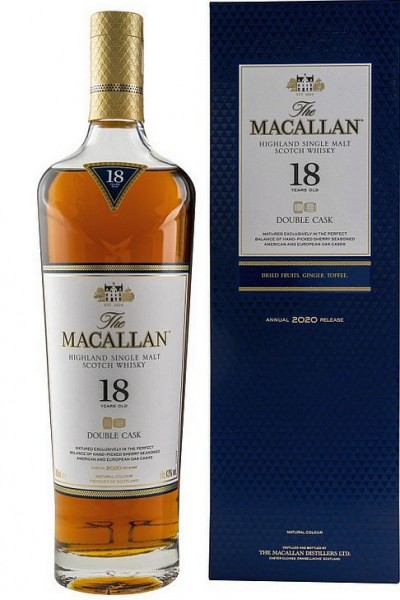 Macallan 18 years Double Cask Highland Whisky