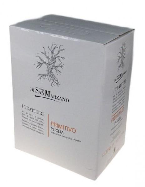 5 Liter San Marzano Primitivo Puglia Bag in Box