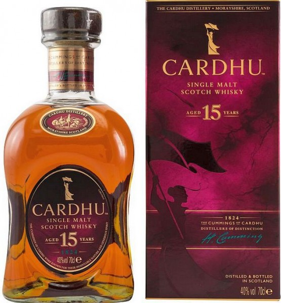 Cardhu 15 years Single Malt Speyside