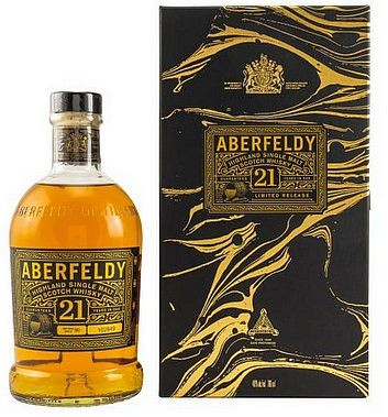 Aberfeldy 21 years single Malt Whisky