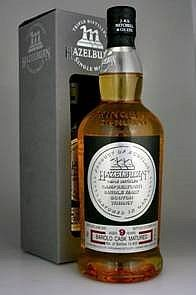 Hazelburn 9 years Single Malt Barolo cask strength Whisky