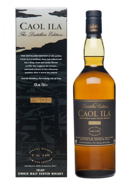Caol Ila DE Distillers Edition 2018 Islay Single Malt Whisky