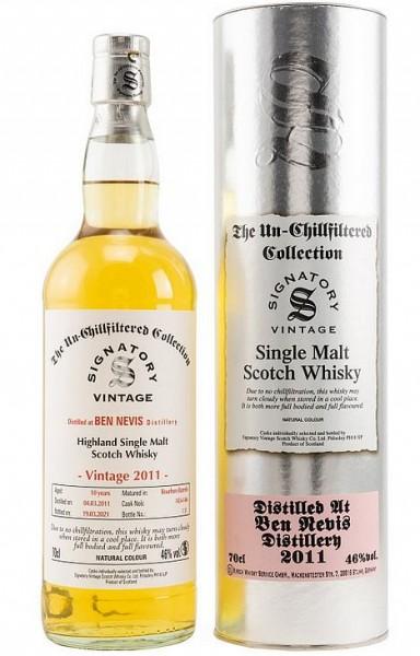 Ben Nevis 2011/2021 Signatory Single Malt Whisky