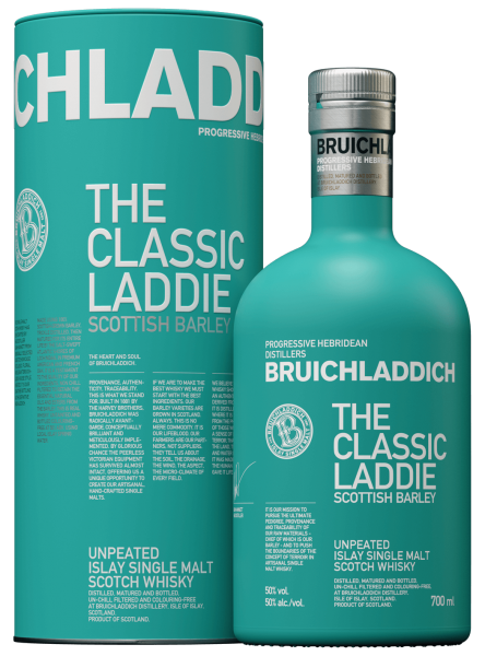 Bruichladdich Laddie classic scottish Barley Islay Single Malt Whisky