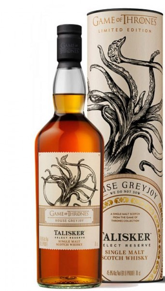Talisker Games of Thrones Haus Greyjoy Single Malt Isle of Skye Whisky