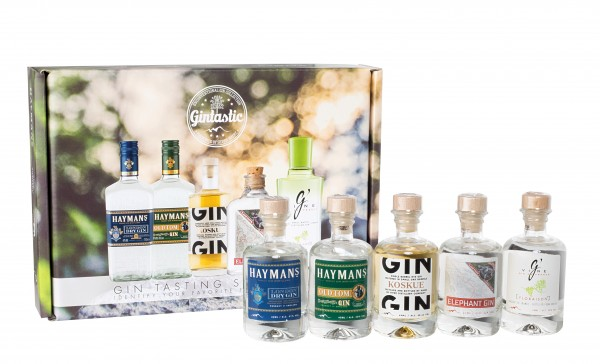Gin Tasting Set 5er Mini