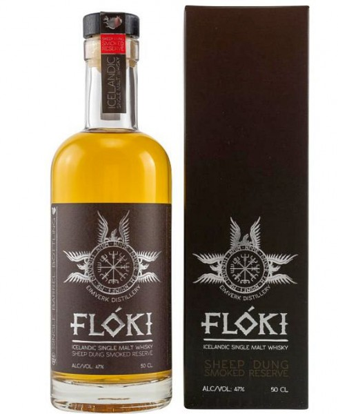 Floki SHEEP CASK 7 Dung RESERVE Single Malt Whisky