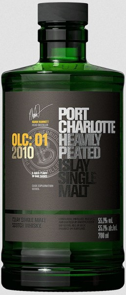 Port Charlotte olc:01 heavily peated Whisky