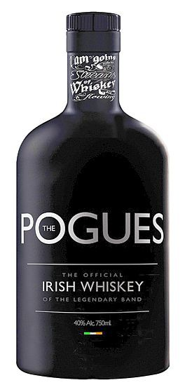 The Pogues Irish triple distilled Whisky