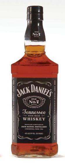 Jack Daniels No7 Bourbon Whiskey