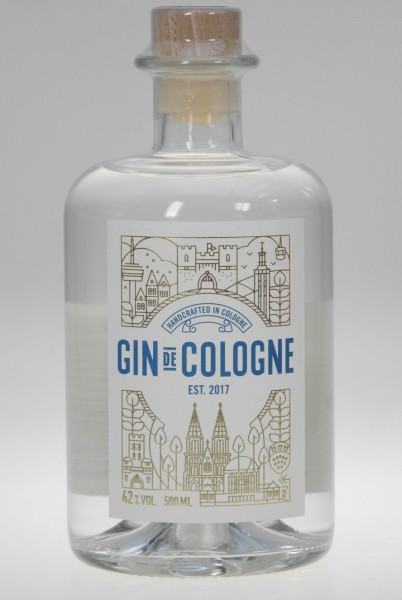 Gin de Cologne - handcrafted in Cologne