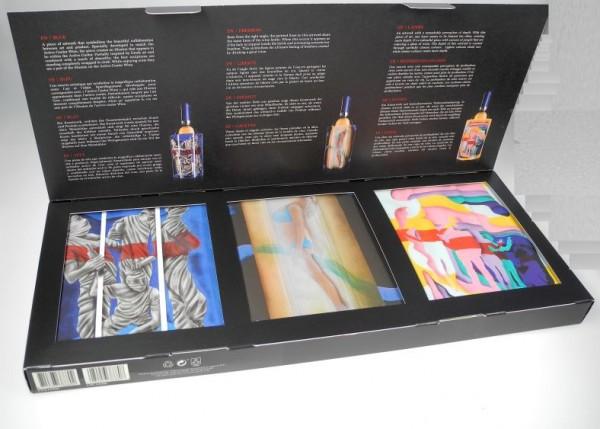 """Vacuvin Active Weinkühler 3er Packung Art """"Ramon Bruin"""""""