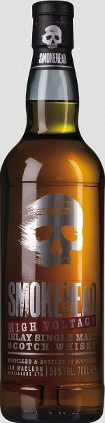 Smokehead, HIGH VOLTAGE Peated Scotch Whisky