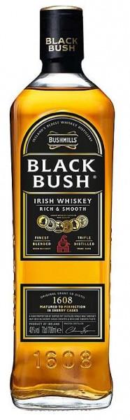 Bushmills Black Bush Blended Irish Whiskey triple distilled