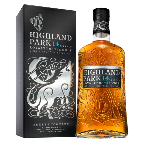 Highland Park 14 years Loyalty of the Wolf Liter Single Malt Whisky