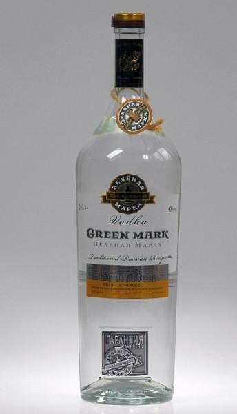 Green Mark Cedar Nut Liter Russian Wodka