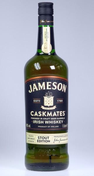 John Jameson CASK MATE Stout Irish Whiskey LITER