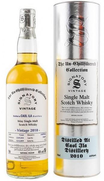 Signatory Caol Ila 2010/19 Islay Whisky